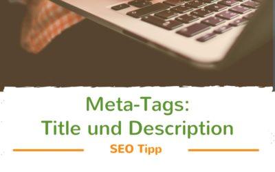 SEO Tipp: Gestalte selbst die Vorschau deiner Website in der Google-Liste.