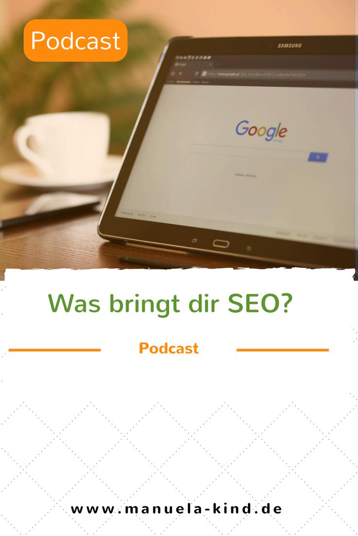 SEO Podcast - SEO lernen und verstehen