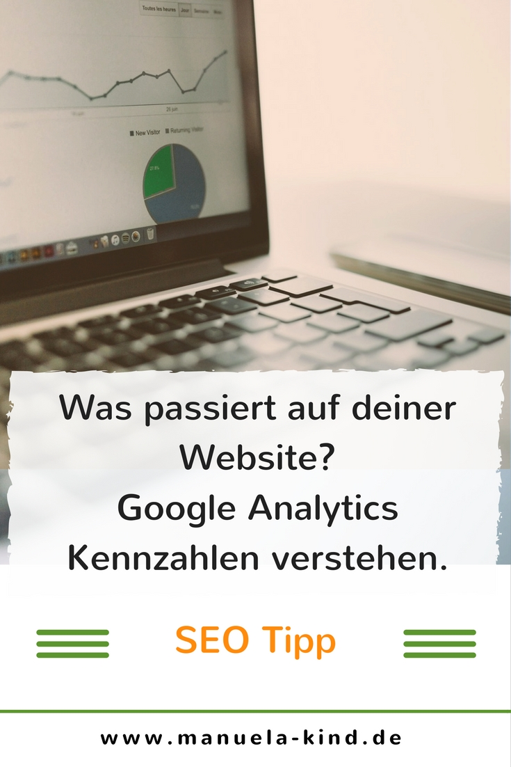Kennzahlen in Google Analytics verstehen