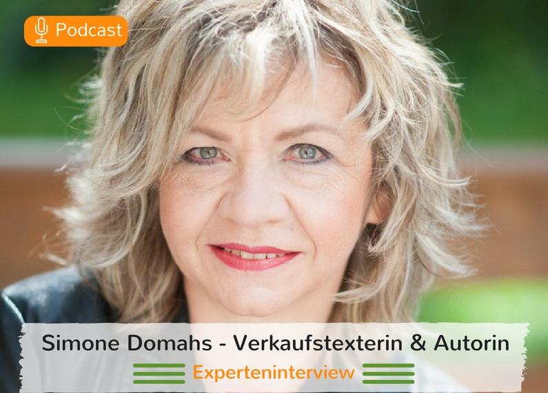 Texterin und Autorin Simone Domahs