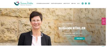 Website HEaderbild von www.susann-koehler.de