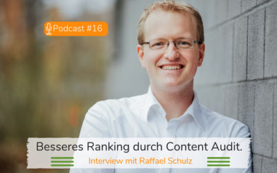 Besseres Google Ranking durch Content Audit.