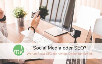 Social Media oder SEO?
