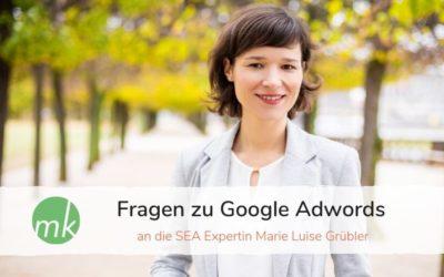 Fragen zu Google Adwords