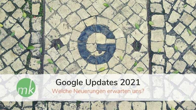 Google updates 2021